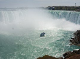 Oddball Escapes inclusion sightseeing Niagara Falls Maid of the Mist boat tour