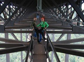 Oddball Escapes baseball road trip sports tour adventure included sightseeing Bridgewalk West Virginia