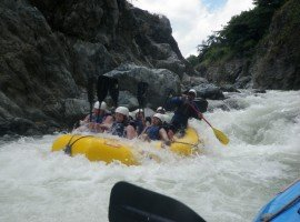 Oddball Escapes baseball road trip tour rafting white water