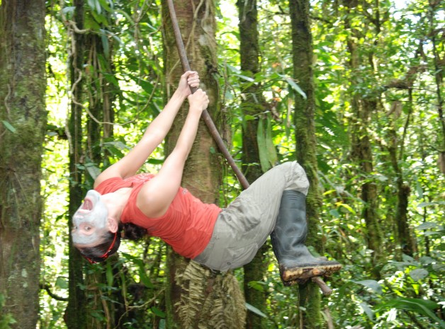Jungle Swinging in the Amazon