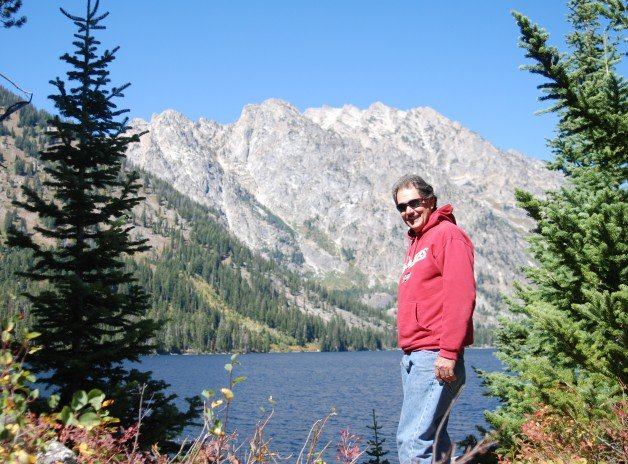 Jenny Lake at the Grand Tetons