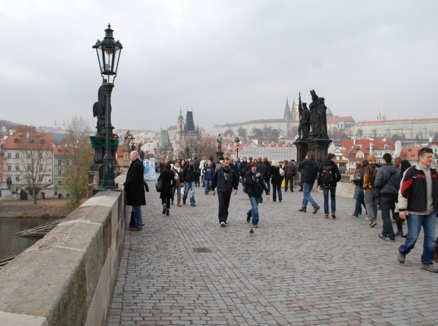 Charles Bridge in Czech Republic
