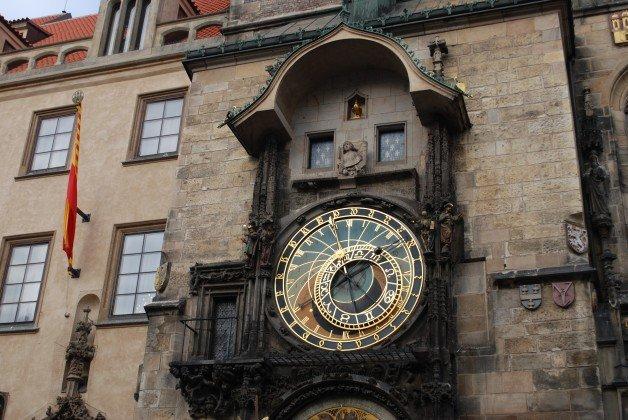World Clock in the Czech Republic