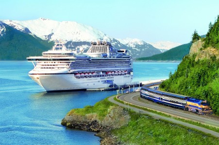 tour guide CruiseTour Princess wilderness train