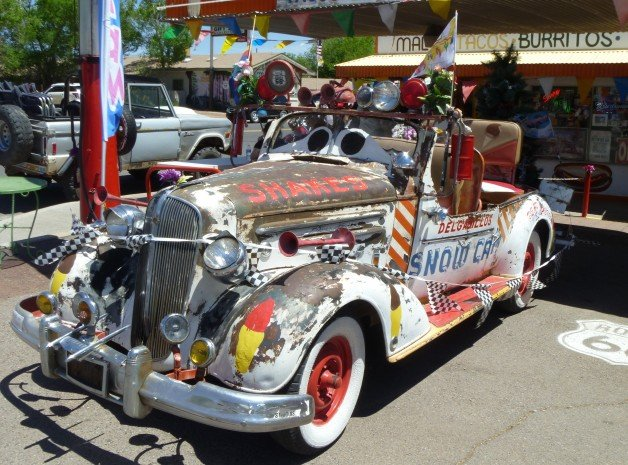 Route 66 Cars in Seligman