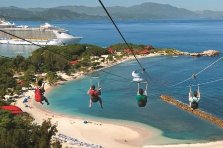 oddball escapes royal Caribbean cruise labadee ziplining