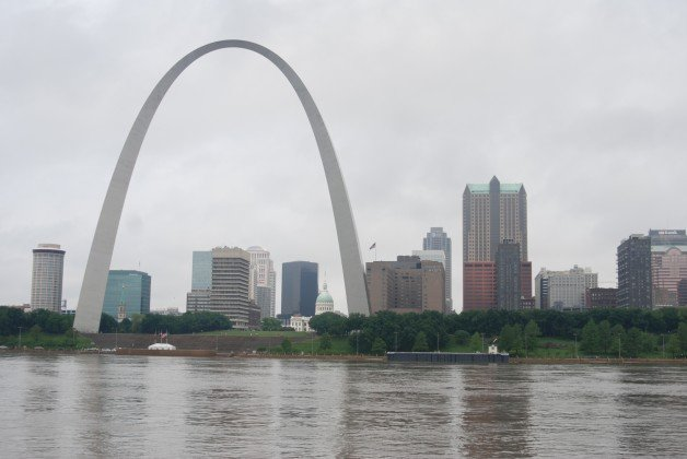 St. Louis on the Mississippi River