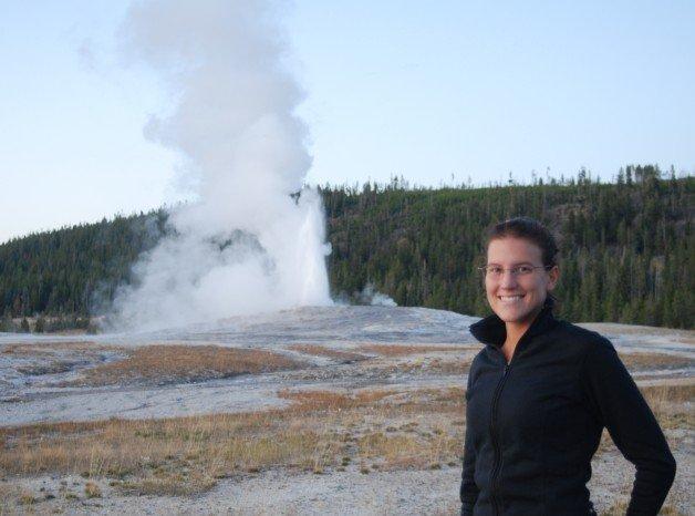 Yellowstone's Old Faithful Geyser