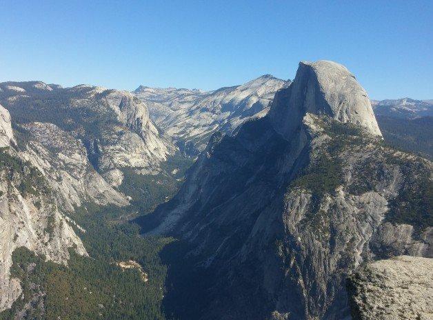 Half Dome in Yosemite Valley