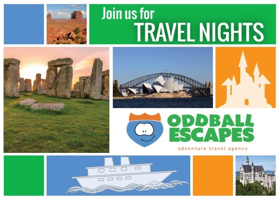travel nights winter 2016 oddball escapes
