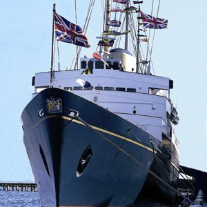 Royal Yacht Britannia Excursion & Dinner with Globus