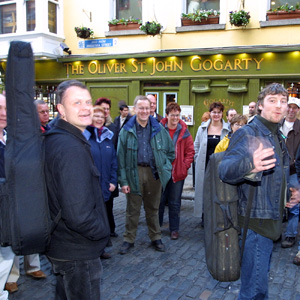 Ireland Dublin Traditional Irish Music Pub Crawl