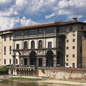 Italy Florence Uffizi Gallery