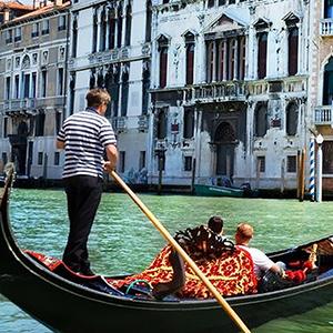 Italy Venice Gondola Serenade