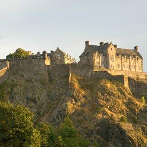 Edinburgh Castle Scotland Globus