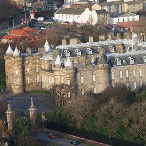 Edinburgh Holyrood Palace Scotland Globus