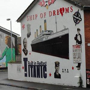 Belfast Northern Ireland Titanic Memorials
