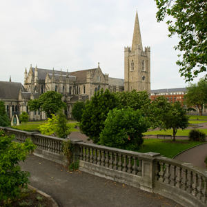Dublin Ireland Saint Patricks Cathedral