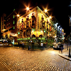 Dublin Ireland Temple Bar Nightlife