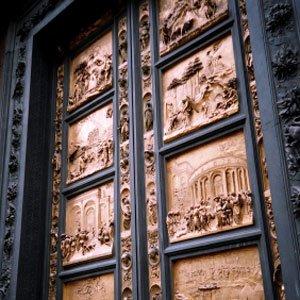 Italy Florence Gates of Paradise