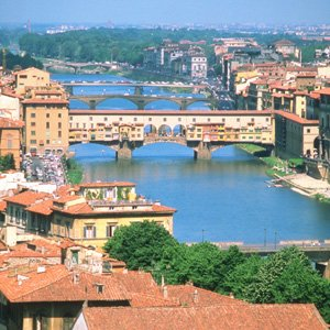 Italy Florence city view