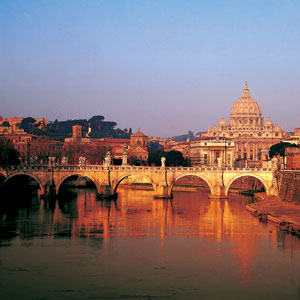 Rome Italy city view