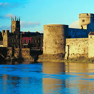 Limerick Ireland King Johns Castle River Shannon