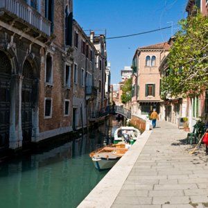 Canals of Venice Italy Monograms
