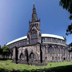 Glasgow Cathedral Scotland Globus