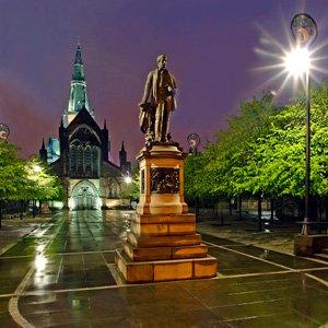 Glasgow Scotland Globus