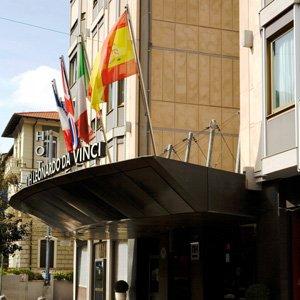 Italy Rome Hotels Leonardo Da Vinci