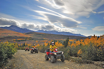 Denali Black Diamond ATV Adventure & Backcountry Dining