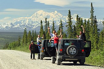 Denali Denali Highway Jeep Excursion
