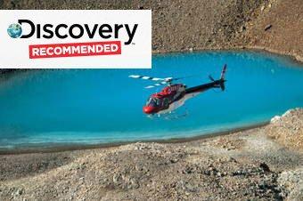 Denali Glacier Landing Helicopter