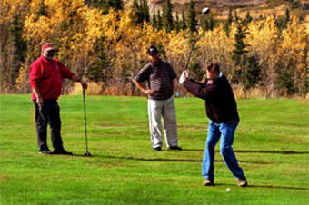 Denali Tundra Mountain Golfing