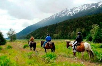 skagway horseback riding