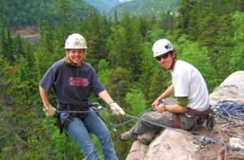 skagway rock climbing rappelling