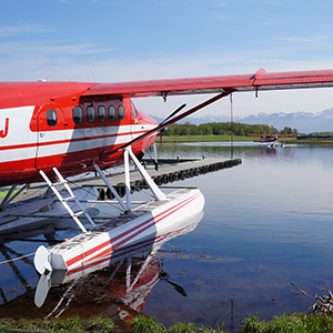 Alaska-excursion-Anchorage-float-plane-flightseeing-Globus