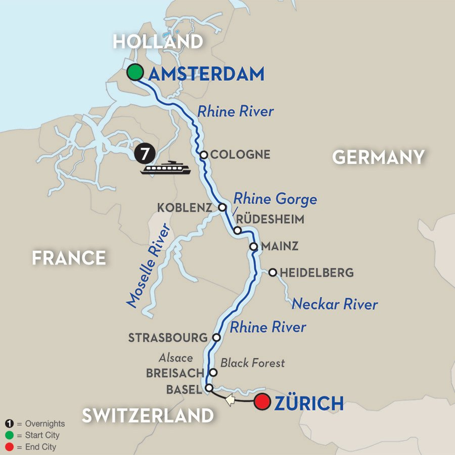 Avalon-Chrismas-Cruise-7night-Festive-Season-Romantic-Rhine-itinerary-map