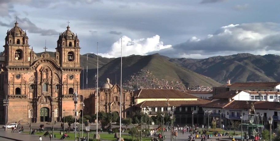 Peru city view